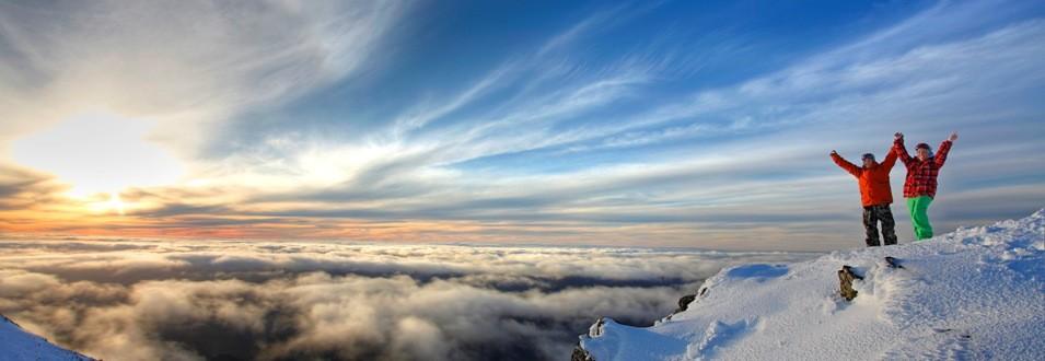 Summit views by AMS Mt Buller
