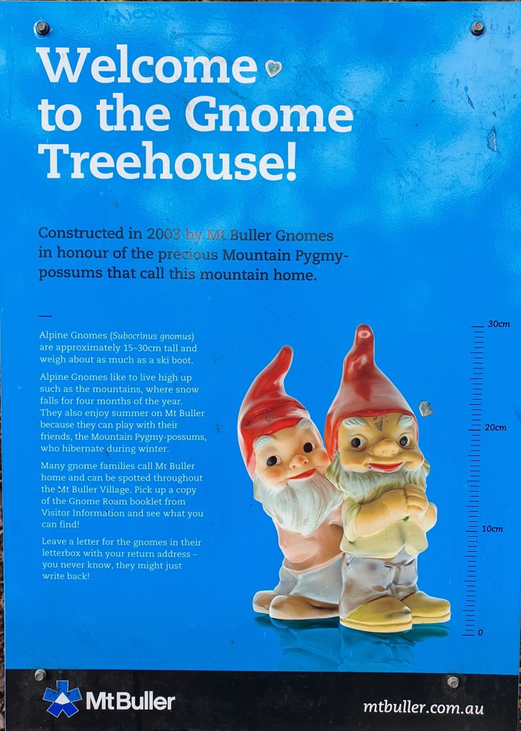 Gnome Tree House AMS Mt Buller